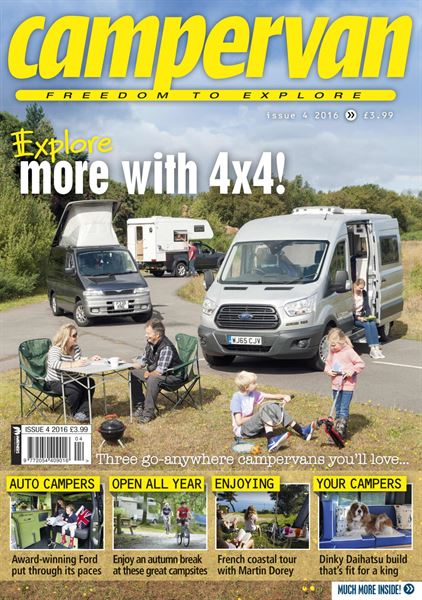 Campervan Issue 4, 2016