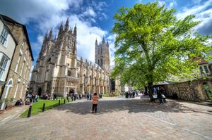 Canterbury - our destination of the month!