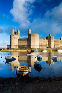 The iconic Caernarfon castle (pic courtesy Visit Britain/Lee Beel)