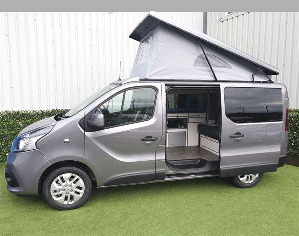 The Calder Campers Renault Trafic Auto campervan
