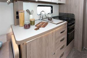 Compass Camino 674 kitchen