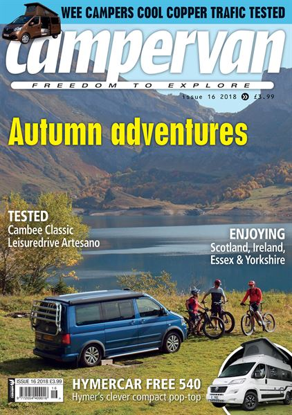 Campervan magazine goes monthly!