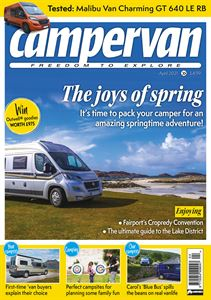 Download the April issue of Campervan magazine today!