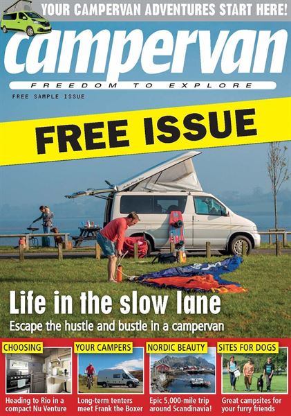 Campervan magazine launches a FREE 80-page sample digital