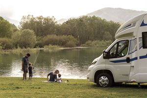 A campervan holiday can be perfect for families
