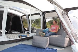 Accessories for motorhomers and campers - like this Outdoor Revolution Campeze Sofa