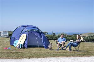 Camping at Trevornick