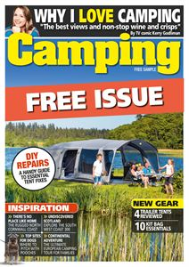 Camping magazine launches a FREE digital issue