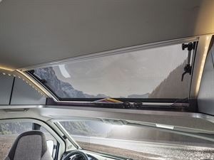 The panoramic skyroof in the Weinsberg CaraTour 600 MQ campervan