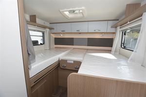 Beds in the Carado I 338 Clever A-class motorhome
