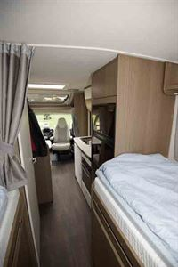 Looking through the motorhome from the bedroom - © Warners Group Publications, 2019