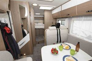 Interior view throughout the motorhome © Warners Group Publications, 2019