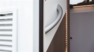 LED lighting is found throughout the Carado T334 low-profile motorhome