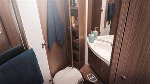 The Carado T334 loo and washroom