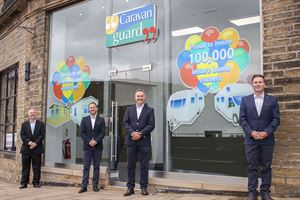Motorhome and caravan insurer, Caravan Guard, celebrates 100,000th customer
