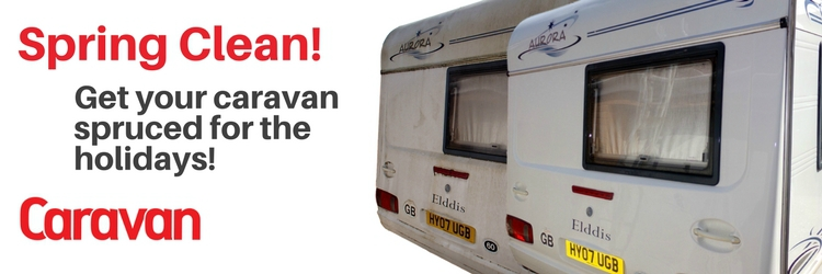 Caravan spring cleaning guide