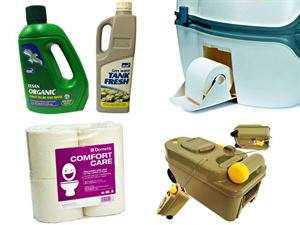 Caravan toilet chemicals and products