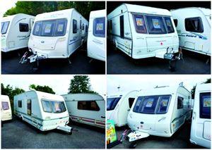 7 caravans under £10k