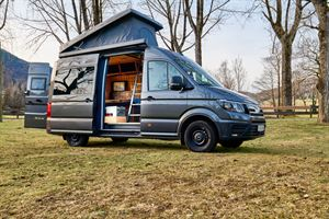 Cargo Campers are available on a wide range of vans