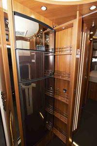 The 160-litre fridge/freezer © Warners Group Publications, 2019
