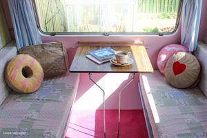 Cassie's DIY creative caravan project