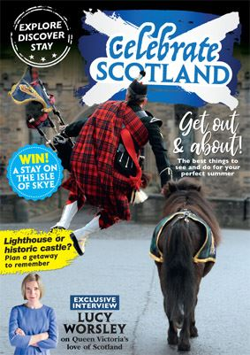 Celebrate Scotland is a new guide from the publishers of History Scotland and Out&AboutLive