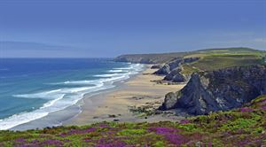 Chapel Porth's Beach in Cornwall - picture courtesy of VisitEngland/Andrew Boxall