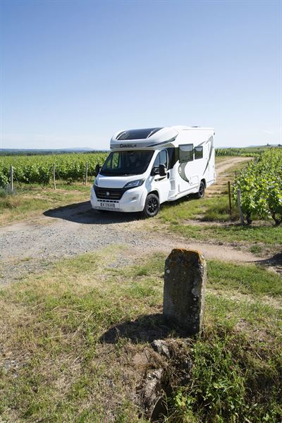 The Chausson 650 motorhome