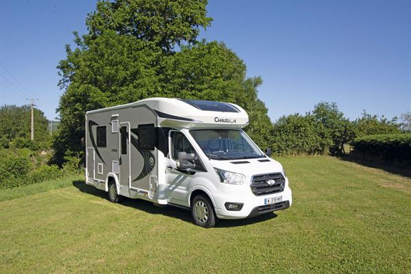 The Chausson 720 motorhome