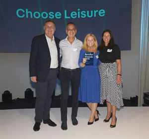 Choose Leisure wins People and Culture Award