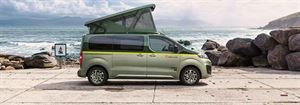 Citroen's new campervan concept's rising roof has a doble bed