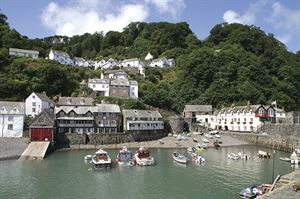 Clovelly's harbour. Image: Pixabay