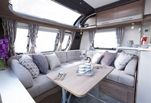 The Coachman VIP 540 Xtra rear lounge