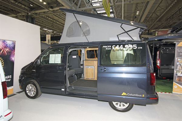 The Rolling Homes Columbus S campervan