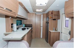 View aft in the Compass Camino 660
