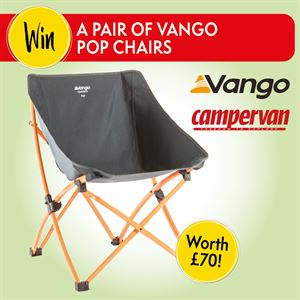 Win a pair of Vango Pop chairs worth £70!