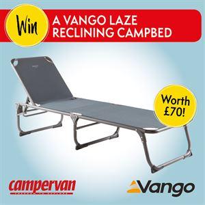 Vango Laze Reclining Campbed