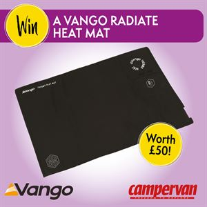 Send us your campervan stories and win a Vango Radiate Heat Mat!