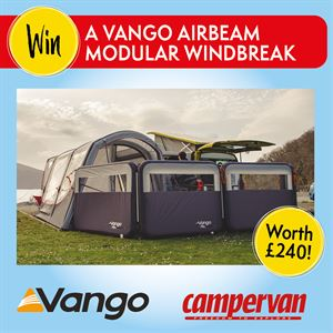 You can win this Vango AirBeam Modular Windbreak