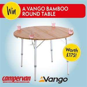 Vango Bamboo Table