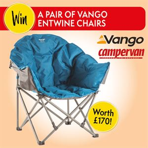 Win a pair of Vango Entwine Chairs in our competition giveaway with Vango
