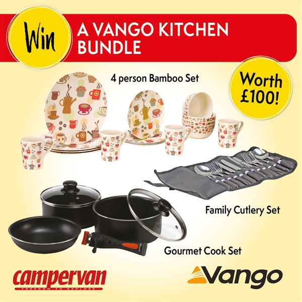 You can win this Vango kitchen bundle