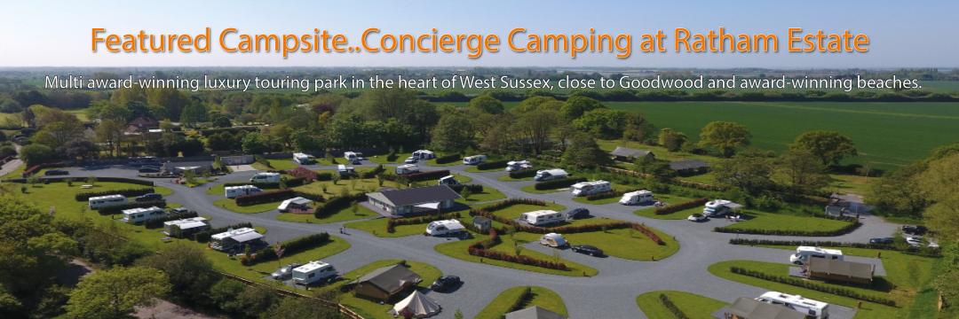 Concierge Camping at Ratham Estate