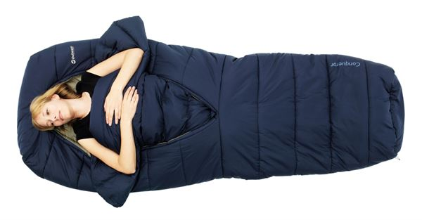 ef4debe2215 New Outwell sleeping bag integrates duck down duvet comfort ...