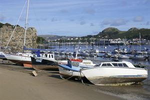 The view across the River Conwy to Tal-y-Cafn - picture courtesy of Carol Kubicki