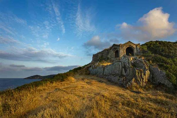Adelaide's Grotto and Rame Head, Cornwall - picture courtesy of David Chapman
