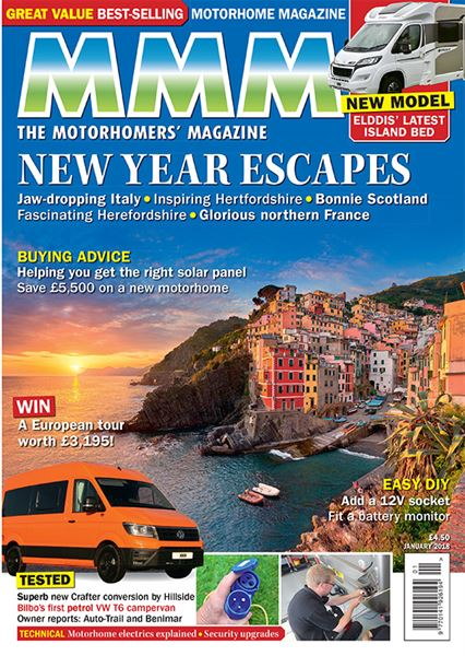 MMM magazine New Year Escapes 2018 sneak video preview - Motorhome