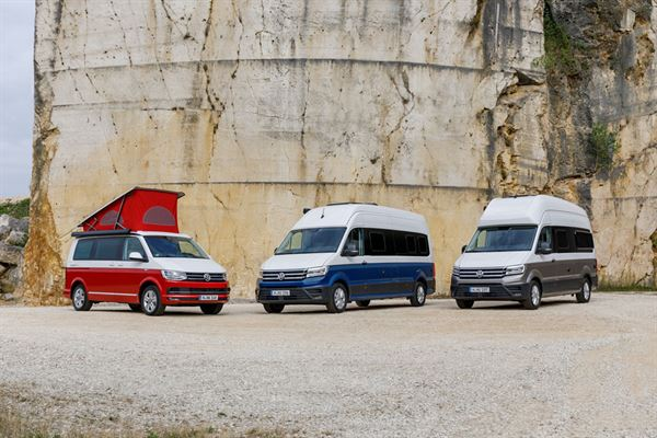 The VW Grand California will be unveiled at the Motorhome and Caravan Show
