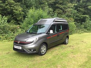 Compact camper based on a Fiat Doblo XL