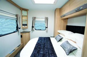 Elddis Crusader Zephyr bedroom